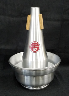 Tom Crown Tenor Trombone Adjustable Cup Mute (all aluminum)